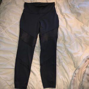 Dark grey/blue Old Navy Active moto leggings